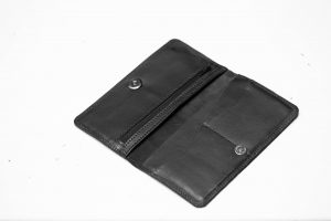 The genuine leather wallet